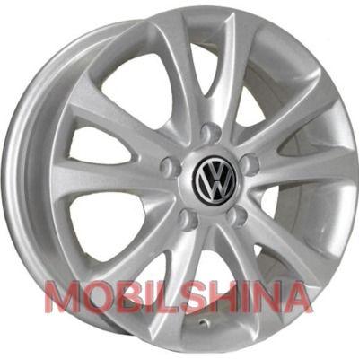 R15 6 5/112 57.1 ET40 Replica Volkswagen (Z180) Silver литой