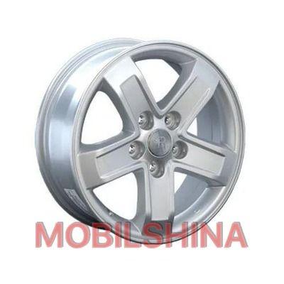 R16 6.5 5/114.3 67.1 ET51 Replica WZ615 Silver литой