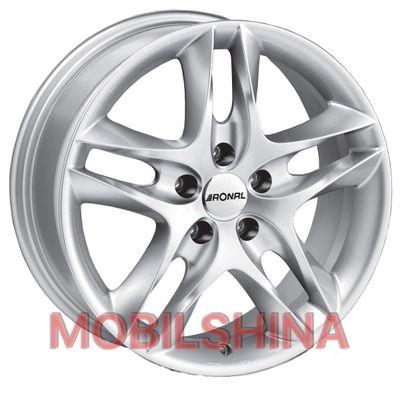 R15 7 5/100 76 ET38 Ronal LZ Silver литой
