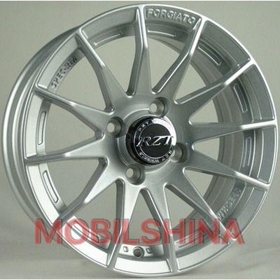 R13 5.5 4/98 58.6 ET10 RZT 13059 Silver литой