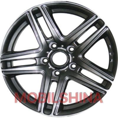 R16 7 5/114.3 67.1 ET35 Sportmax Racing SR378 metallic (литой)