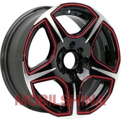 R16 7 5/112/114.3 67.1 ET38 Sportmax Racing SR519 red литой