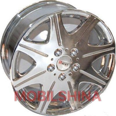 R16 7.5 5/114.3 67.1 ET37 Sportmax Racing SR819 Chrome литой