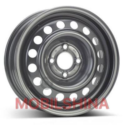 R14 5.5 4/100 60.1 ET43 Steel Renault черный стальной