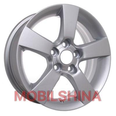 R15 6 5/105 56.6 ET39 Storm SLR-5090 Silver литой