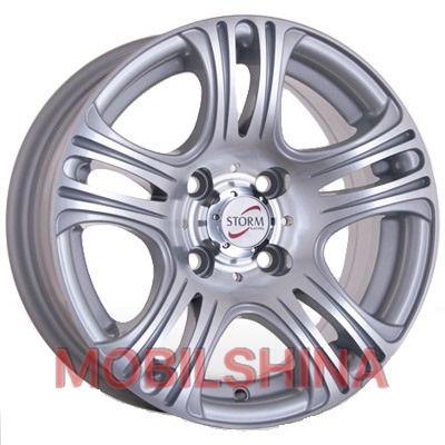 R13 5.5 4/100 67.1 ET12 Storm W-529 Silver литой