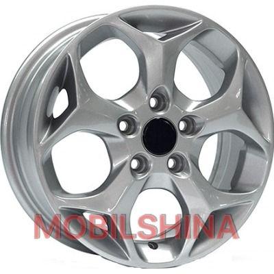 R15 6 4/100 56.6 ET39 Storm W-M002 Silver литой