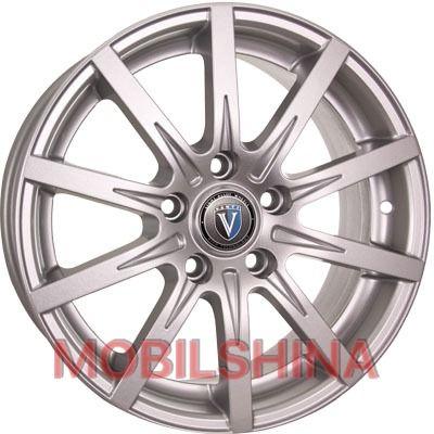 Диски R16 6.5 5/114.3 67.1 ET45 Tech Line TL1608 Silver литой