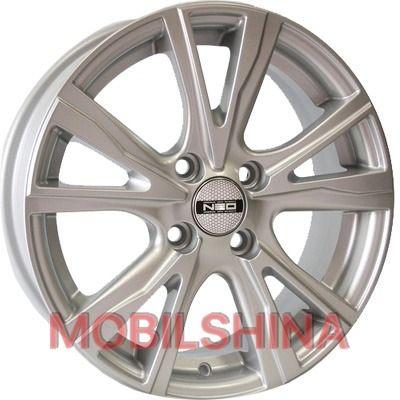 Диски R15 6 4/100 60.1 ET45 Tech Line TL574 Silver литой
