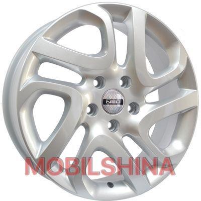 R17 6.5 5/114.3 66.1 ET50 Tech Line TL700 Silver (литой)
