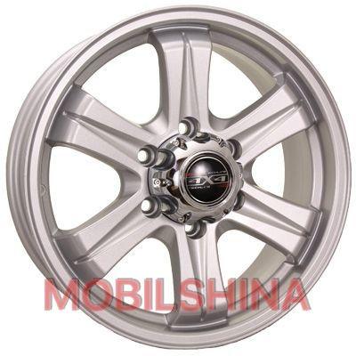 Диски R17 7 6/139.7 100.1 ET38 Tech Line TL722 Silver литой