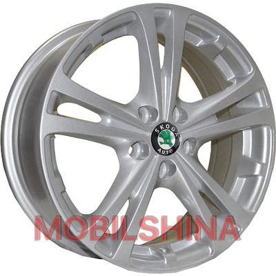 R15 6 5/100 57.1 ET43 TRW Z616 Silver литой