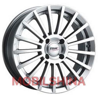 R15 6.5 5/110 72 ET38 TSW Pace Silver литой