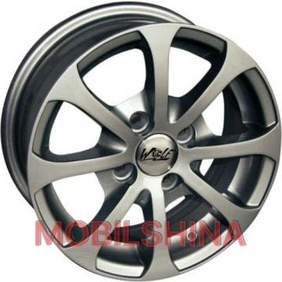 R13 5.5 4/100 67.1 ET35 Wolf Luna 503 Silver литой