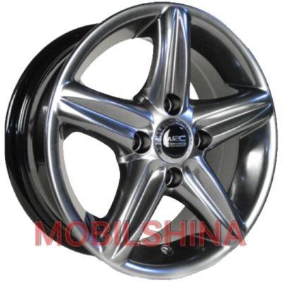 R14 6 4/114.3 67.1 ET35 WRC 519 Silver литой