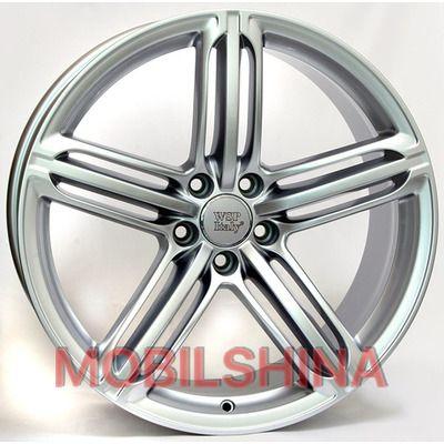 R18 8.5 5/120 72.6 ET50 WSP Italy BMW (W650) Sofia Silver литой