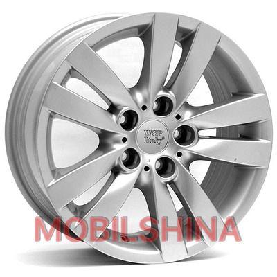 R17 8 5/120 72.6 ET34 WSP Italy BMW (W658) Pisa Silver литой