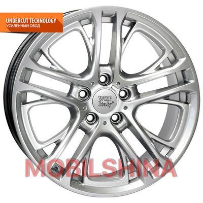 R19 8.5 5/120 72.6 ET25 WSP Italy BMW (W677) Xenia X3 black polished литой