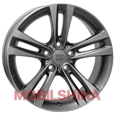 WSP Italy BMW (W680) Zeus 8/R18 5/120 Anthracite Polished
