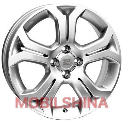 R16 6.5 4/100 56.6 ET37 WSP Italy Opel (W2505) Caridi Silver литой