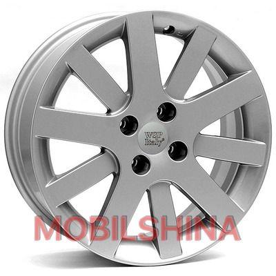R15 6.5 4/108 65.1 ET28 WSP Italy Peugeot (W850) Lyon Silver литой