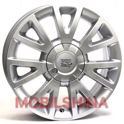 R17 7 4/100 60.1 ET38 WSP Italy Renault (W3303) Assen Clio hyper silver литой