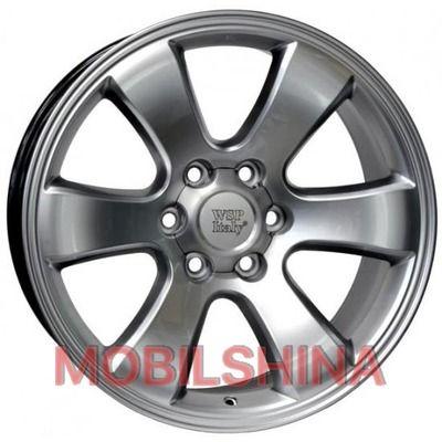 R20 9.5 6/139.7 106.1 ET30 WSP Italy Toyota (W1707) Yokohama Prado silver polished литой
