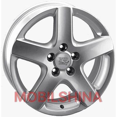 R17 7 5/100 57.1 ET42 WSP Italy Volkswagen (W436) Ravello Silver литой