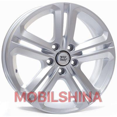 Диски R17 7 5/112 57.1 ET38 WSP Italy Volkswagen (W467) Xiamen Silver литой