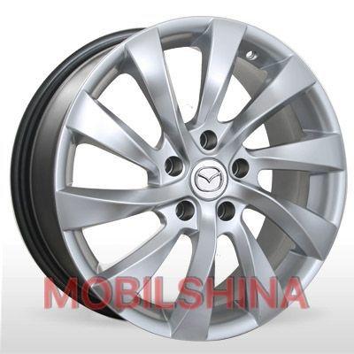 R17 7 5/114.3 67.1 ET55 ZD 613 Silver литой