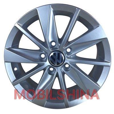 R15 6 5/112 57.1 ET40 ZD Skoda 15 Silver литой