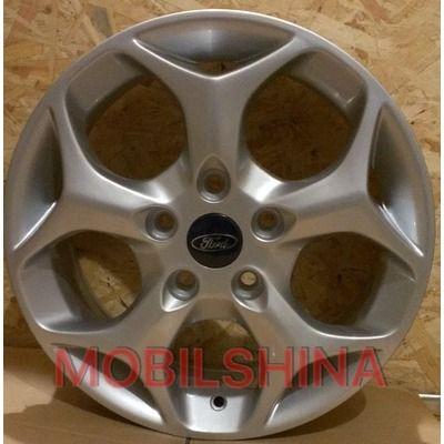 Диски R15 6 5/108 63.4 ET53 ZD ZY542 Silver литой