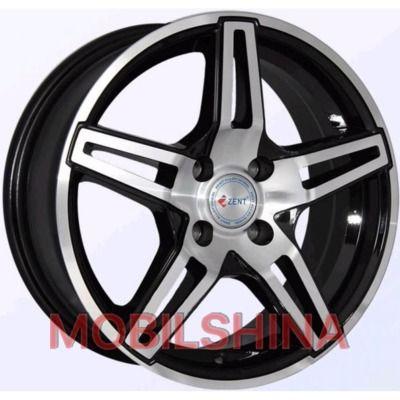 R15 6.5 5/100 73.1 ET35 Zent Z153 Black литой