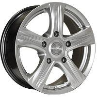 R15 6.5 5/139.7 98.5 ET40 ZW 7330 Silver литой