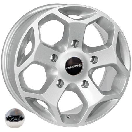 Диски R16 7 5/160 65.1 ET50 ZW BK401 Silver литой