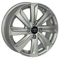 R14 5.5 4/100 67.1 ET35 ZW BK736 Silver литой